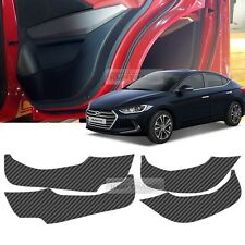 Carbon Door Decal Sticker Cover Kick Protector A-Type For HYUNDAI 17 Elantra AD