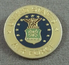 US Air Force / USAF Logo Pin / Clutchback / Style A