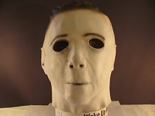 Halloween Michael Myers Full Head Latex Mask Adult Cosplay Scary Killer One Size
