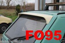 SPOILER ALETTONE POSTERIORE FIAT PANDA 1°SERIE MK1  GREZZO   ST340-F095G