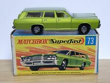 Matchbox Lesney No.73c Mercury Commuter In Type 'G2' Superfast End Flap Box
