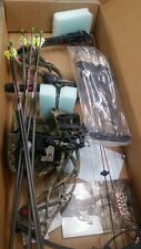 Bowtech carbon overdrive rak equipped 70# RH new tuned from a pro shop camo