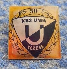 UNIA TCZEW 50 ANNIVERSARY /1924-1974/ POLAND FOOTBALL FUSSBALL ROWING PIN BADGE