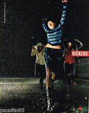 PUBLICITE ADVERTISING 075  2002  Les bottes femme KICKERS