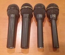 Lot of 4 Electro-Voice Dynamic Microphones NOT WORKING - N/D 357, 767, 267, 457