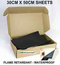 8 Sheets Closed Cell Foam Insulation Car Boat Van Waterproof Sound Deadening UK