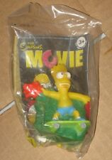 2007 The Simpsons Movie Burger King Kids Meal Toy - Bart