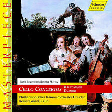 LUIGI BOCCHERINI, JOSEPH HAYDN: CELLO CONCERTOS [USED CD]
