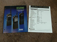 Standard HX580T HX581T HX582T Dealer Sales Brochure Hand-Held Portable Radio