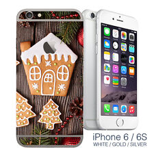 Gingerbread Christmas iPhone 6 wrap skin - iphone sticker cover for iphone