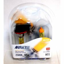 Nokya H11 Hyper Yellow S1 High Beam Fog Light Halogen Light Bulb 1 Pair NOK7618