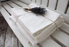 Linea 100% Linen White 4pcs Queen Sheet Set