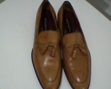 Men's Shoes Frattelli Rossetti Sz 8.5 Mid-tan Loafers New w/o Box