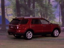 NEW STYLE FORD EXPLORER 1/64 SCALE DIECAST COLLECTIBLE MODEL DIORAMA OR DISPLAY
