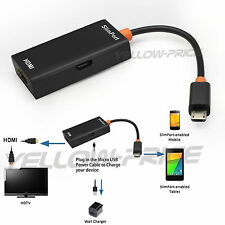 Slimport MyDP Micro USB To HDMI HD TV Adapter Cable For Google Nexus / LG G3 G2