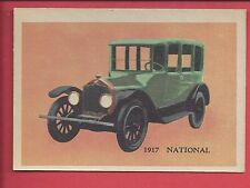 1957 Premiere trading cards Antique autos 1917 NATIONAL