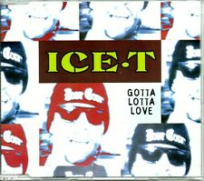 ICE.T - GOTTA LOTTA LOVE - 4 TRACK CD SINGLE