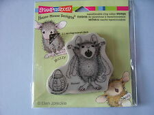 HOUSE MOUSE RUBBER STAMPS CLING COUNT MAXWELL HALLOWEEN STAMP