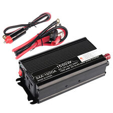 1500W Auto Inverter Car Modified Power Converter Sine Wave DC 12V to AC 220V