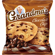 Grandma's Homestyle Cookies, Chocolate Chip, 2.5 oz, 33 ct X 2 = 66 cookies