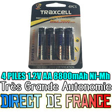4 Piles AA 3600mAh Rechargeable Mignon LR6 1.2V Ni-Mh  TRES PUISSANT - HOT