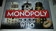 Doctor Who 50th Anniversary Monopoly Board Game NEW SEALED