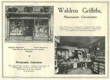 1907 Waldron Griffiths Pharmacist Cirencester Ad