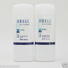 Obagi Nu-Derm Fx Kit of 2, Clear Fx and Blend Fx, Authentic, New, Fast Shipping