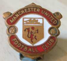 Manchester united vintage 70s 80s badge maker reeves bham no pin 21mm x 21mm