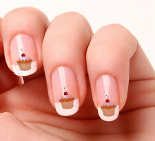 20 Nail Art Decals Transfers Stickers #42 - Cup Cake
