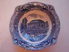 alte Schale, Johnson Brothers, Old London, Blau, 21,5cm