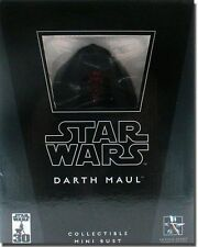 STAR WARS GENTLE GIANT DARTH MAUL MINI BUST BRAND NEW NEVER OPENED