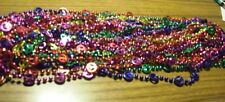 WHOLESALE LOT 12 PEACE SIGN MARDI GRAS BEADS NECKLACES