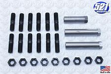 Mopar Exhaust Manifold Hardware Kit Studs Sleeve Nuts 68-74 383 440HP B/E Body