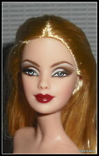 NUDE BARBIE LUSTROUS BLONDE WINE LIP 50TH ANNIVERSARY YELLOW CORVETTE DOLL OOAK