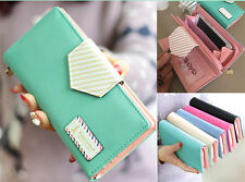 Fashion Womens Long Leather Wallet Card Holder Purse Mobile Bag Clutch Handbag