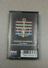 Hooked on Swing - Larry Elgart & His Manhattan Swing Orchestra (Cassette - 1982)