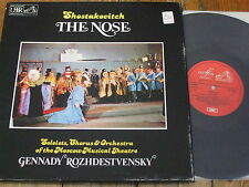 SLS 5088 Shostakovich The Nose / Rozhdestvensky etc. 2 LP box