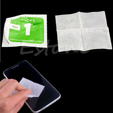 400xPhone LCD Screen Camera Lens Dust Removal Dry Wet Cleaning Cloth Paper Wipes