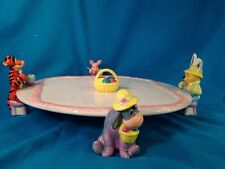 Disney China Tray Winnie the Pooh and Friends Easter Eyeore Piglet Tigger Winnie