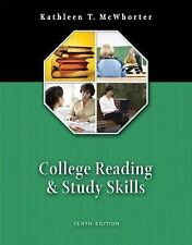 College Reading and Study Skills (with MyReadingLab) (10th Edition)