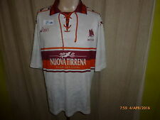 "AS Rom Original asics Auswärts Trikot 1994/95 ""UOVA TIRRENA"" Gr.L- XL"