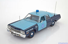 1:18 Ertl/Auto World Dodge Monaco Massachusetts State Police 1974