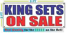 KING SETS ON SALE Full Color Banner Sign NEW Best Quality for the $$$ MATTRESS