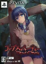 Corpse Party Blood Drive Limited Edition Playstation PS Vita Game Japan Used