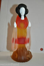 GEISHA  GLASS MURANO   VINTAGE   OFFERS ARE WELCOME