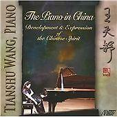 TIANSHU WANG, THE PIANO IN CHINA, US 18 TRACK CD ALBUM FROM 2011, (MINT)