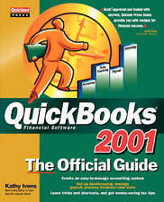 Quickbooks 2001: the Official Guide by Ivens (Paperback 2001)