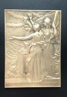 French Medal. Marianne Exposition 1900. Art Deco Nouveau. By Vernon / M60