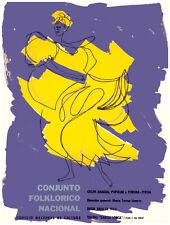 "11x14""Decoration CANVAS.Interior political art.Rumba.Cuba dance school.6377"